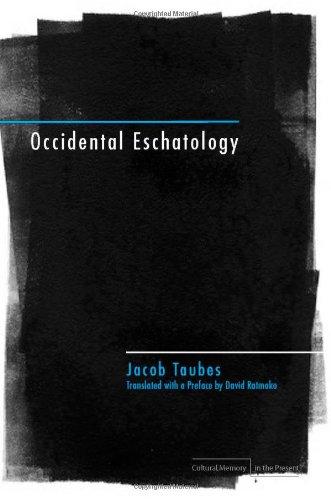 Occidental Eschatology   2009 edition cover