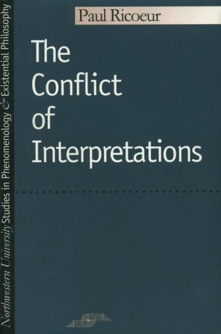 Conflict of Interpretations   1974 edition cover