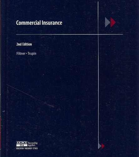 COMMERCIAL INSURANCE N/A edition cover