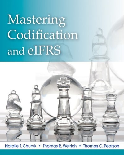 Mastering Codification and eIFRS   2012 edition cover