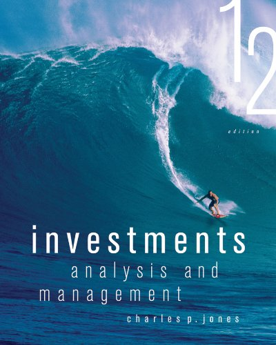 Investments Analysis and Management 12th 2013 edition cover