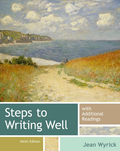 Steps to Writing Well with Additional Readings  9th 2014 edition cover