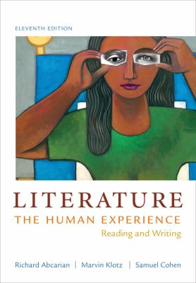 Literature: the Human Experience Reading and Writing 11th 2013 edition cover