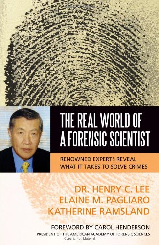 Real World of a Forensic Scientist   2009 edition cover