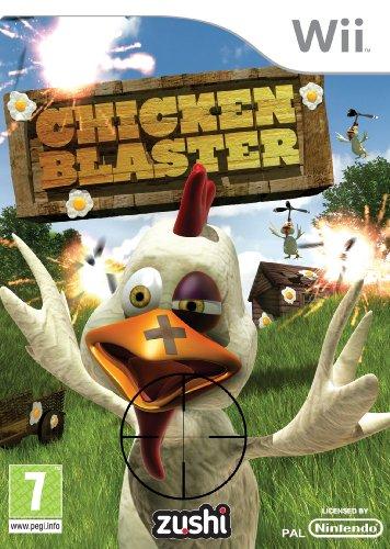 Chicken Blaster Nintendo Wii artwork