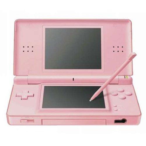 Nintendo DS Lite Coral Pink Nintendo DS artwork