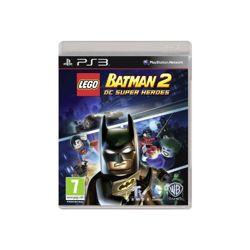 PS3 behavior Allowed (import version) Japan version DC Super Heroes: LEGO Batman 2 PlayStation 3 artwork