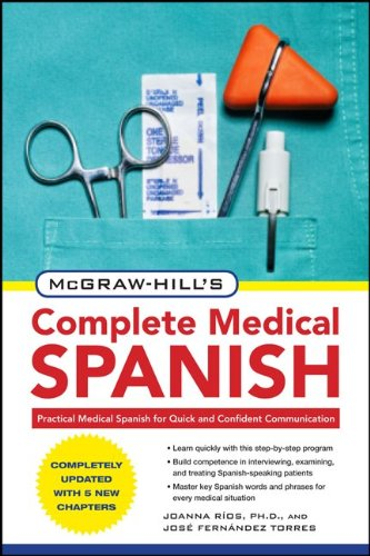 Complete Medical Spanish  2nd 2010 edition cover