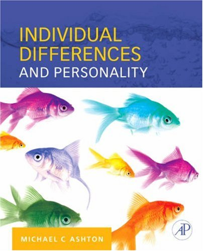 Individual Differences and Personality   2007 edition cover