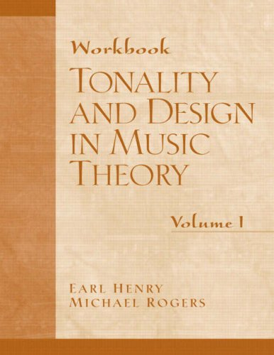 Tonality and Design in Music Theory   2005 9780130811295 Front Cover