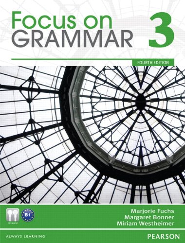 Value Pack Focus on Grammar 3 Student Book and Workbook 4th 2012 9780132862295 Front Cover