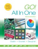 Go! All in One Computer Concepts and Applications 2nd 2015 edition cover