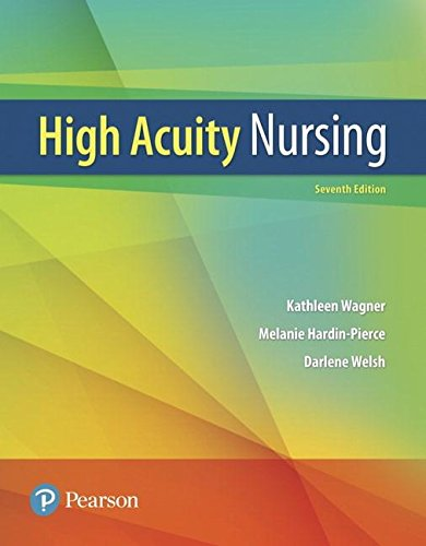 High-Acuity Nursing  7th 2019 9780134459295 Front Cover