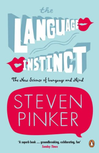 The Language Instinct (Penguin Science) N/A edition cover