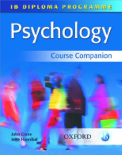 IB Diploma Programme Psychology Course Companion  2009 9780199151295 Front Cover
