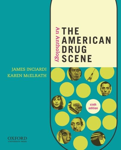 American Drug Scene An Anthology 6th 2012 edition cover
