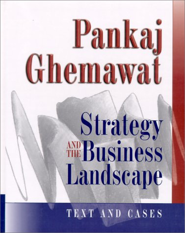 Strategy and the Business Landscape   1999 edition cover