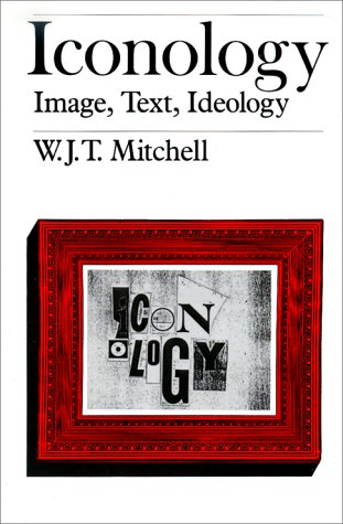 Iconology Image, Text, Ideology  1987 edition cover