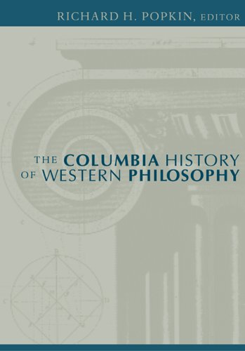 Columbia History of Western Philosophy   2005 edition cover