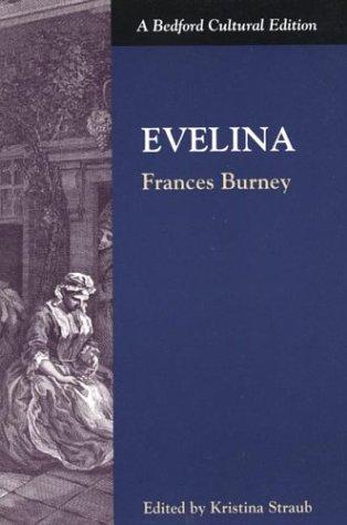 Evelina   1997 edition cover