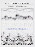Solutions Manual for for Chemistry Structure and Properties  2015 edition cover