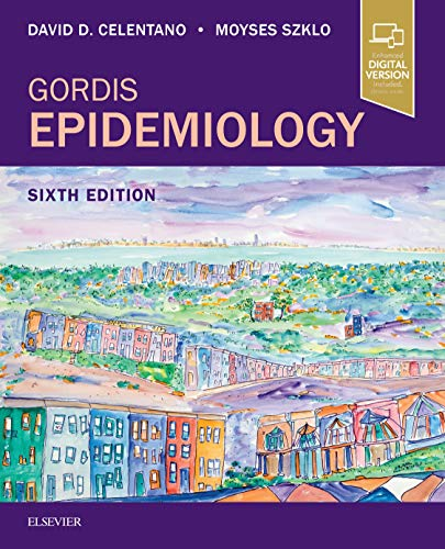 Gordis Epidemiology  6th 2020 9780323552295 Front Cover