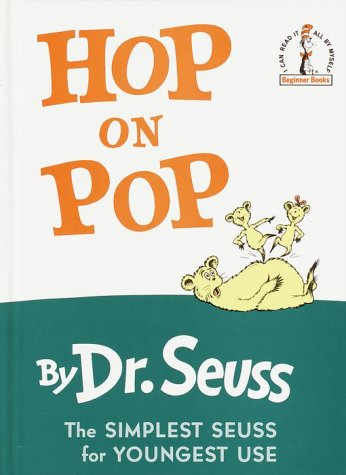 Hop on Pop   1991 (Large Type) 9780394800295 Front Cover