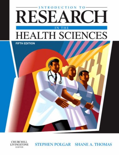 Introduction to Research in the Health Sciences  5th 2008 edition cover