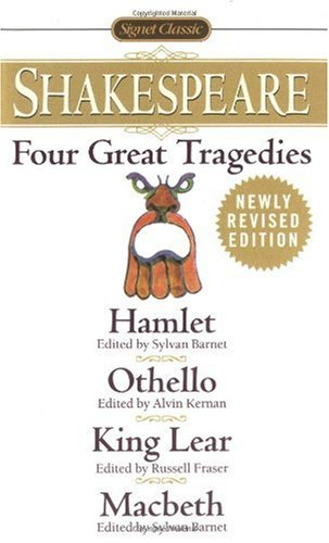 Four Great Tragedies Hamlet; Othello; King Lear; Macbeth  1982 (Revised) edition cover