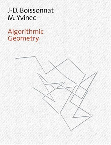 Algorithmic Geometry   1998 9780521565295 Front Cover