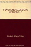 FUNCTIONS+ALGEBRAIC METHODS >C 2nd 2003 edition cover