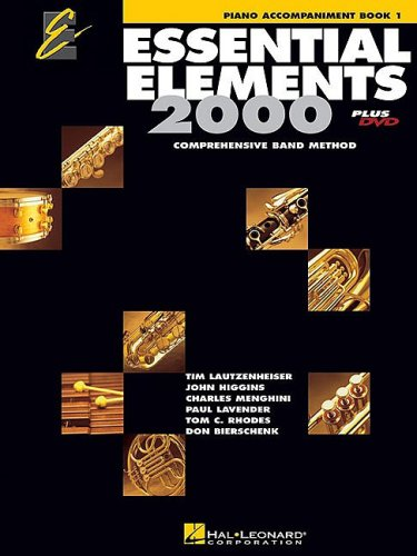 Essential Elements 2000 Piano Accompaniment N/A edition cover