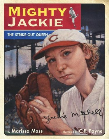 Mighty Jackie The Strike-Out Queen  2004 edition cover