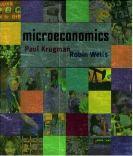 Microeconomics   2005 9780716752295 Front Cover