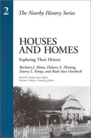 Houses and Homes Exploring Their History  1997 edition cover