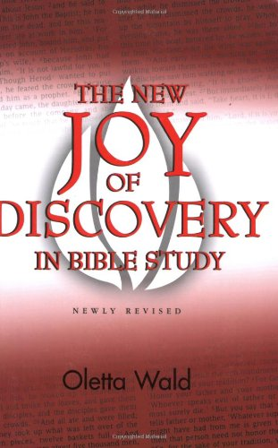 New Joy of Discovery in Bible Study   2002 (Revised) edition cover