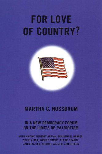 For Love of Country? A New Democracy Forum on the Limits of Patriotism  2002 edition cover