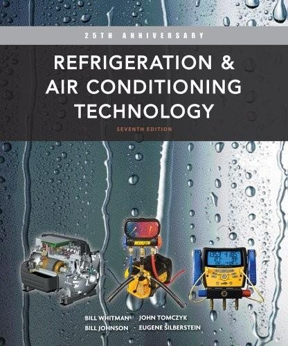 Refrigeration and Air Conditioning Technology:   2012 edition cover