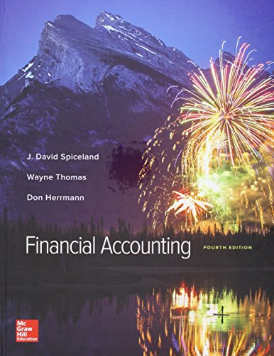 Financial Accounting  4th 2016 9781259821295 Front Cover