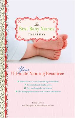 Best Baby Names Treasury   2008 9781402214295 Front Cover
