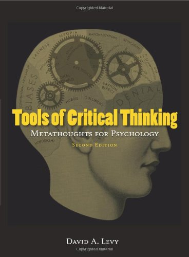 Tools of Critical Thinking  2nd 2010 edition cover