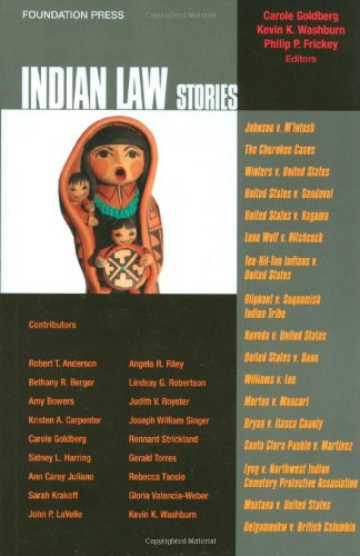 Indian Law Stories   2011 edition cover