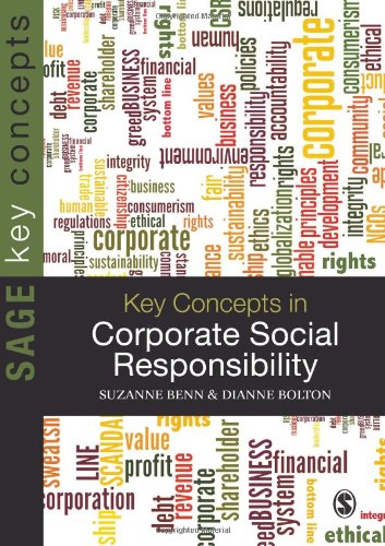 Key Concepts in Corporate Social Responsibility   2011 edition cover