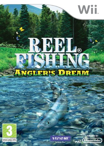 Reel Fishing: Angler's Dream Nintendo Wii artwork