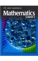 Holt Mcdougal Mathematics Student Edition Course 2 2010  2010 9780030994296 Front Cover