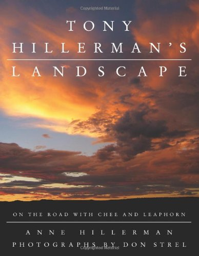 Tony Hillerman's Landscape On the Road with Chee and Leaphorn  2009 9780061374296 Front Cover