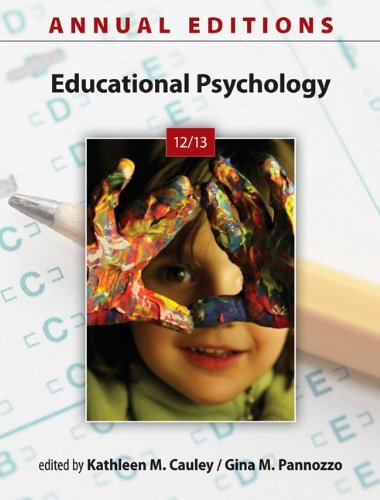 Annual Editions: Educational Psychology 12/13  27th 2013 9780078051296 Front Cover