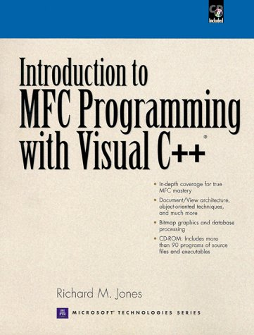 Introduction to MFC Programming with Visual C++   2000 edition cover