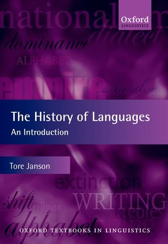 History of Languages An Introduction  2011 edition cover