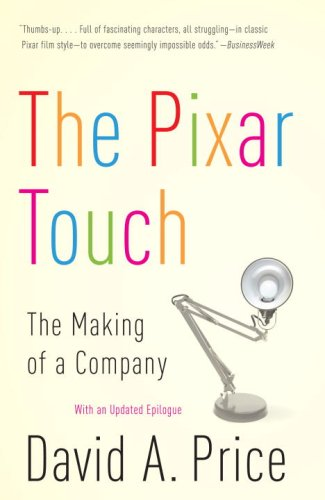 Pixar Touch   2009 edition cover